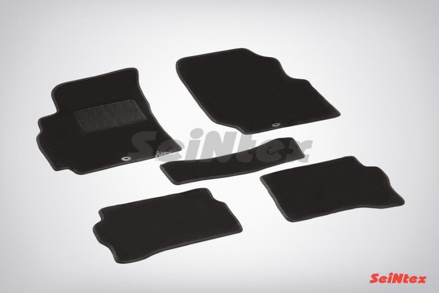 Ворсовые коврики LUX для Nissan Almera classic (B10) 2006-2013