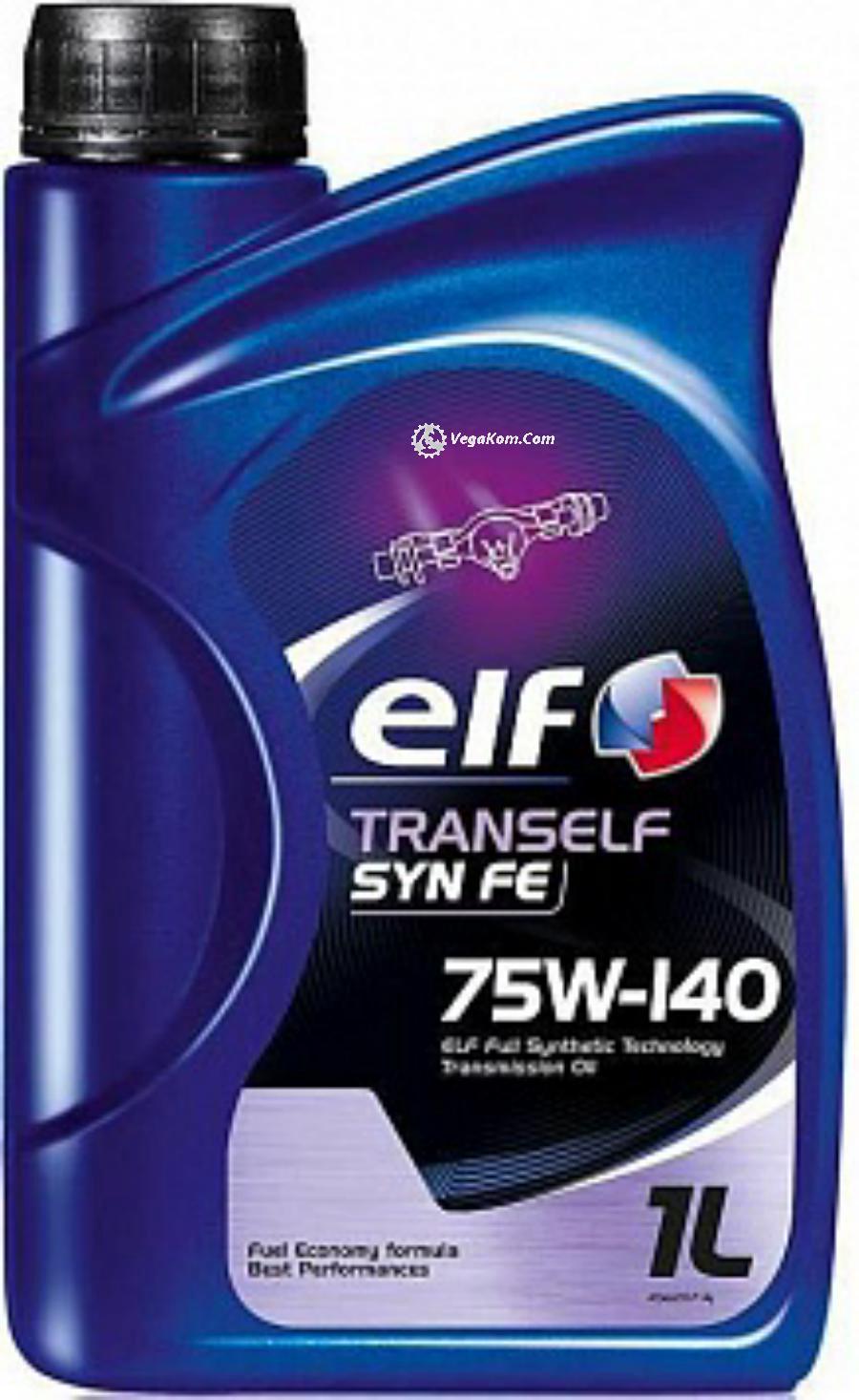 Масло трансмиссионное синтетическое TRANSELF SYNTHESE FE 75W-140, 1л