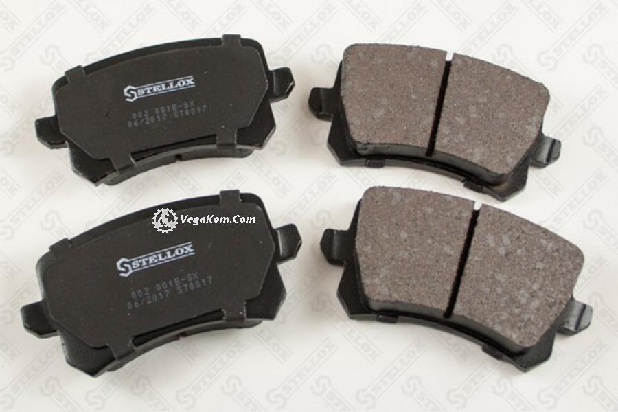 КОЛОДКИ ЗАДНИЕ SEAT ALHAMERCEDESRA 1.4 2.0TDI 10- VW PASSAT SHARAN 1.4 1.6TDI 05-