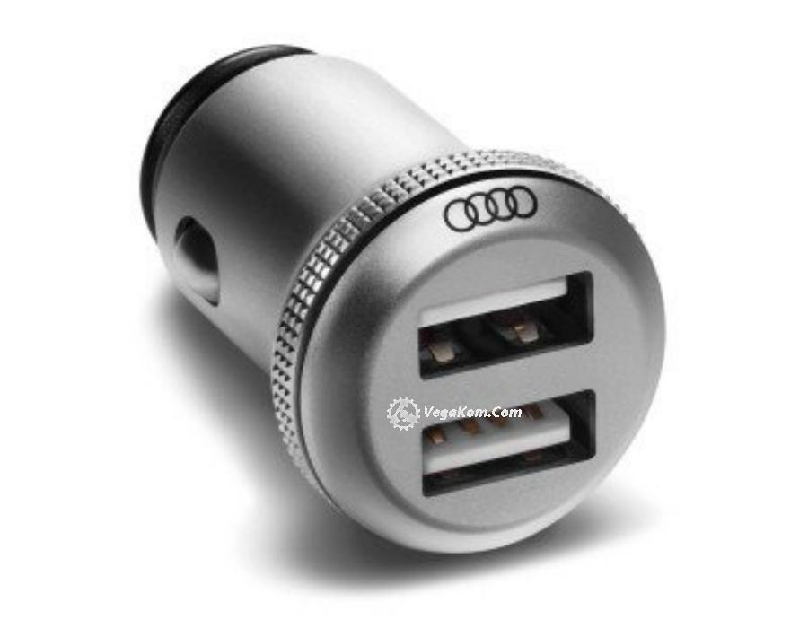 Зарядное устройство Audi Dual Universal Car Charger
