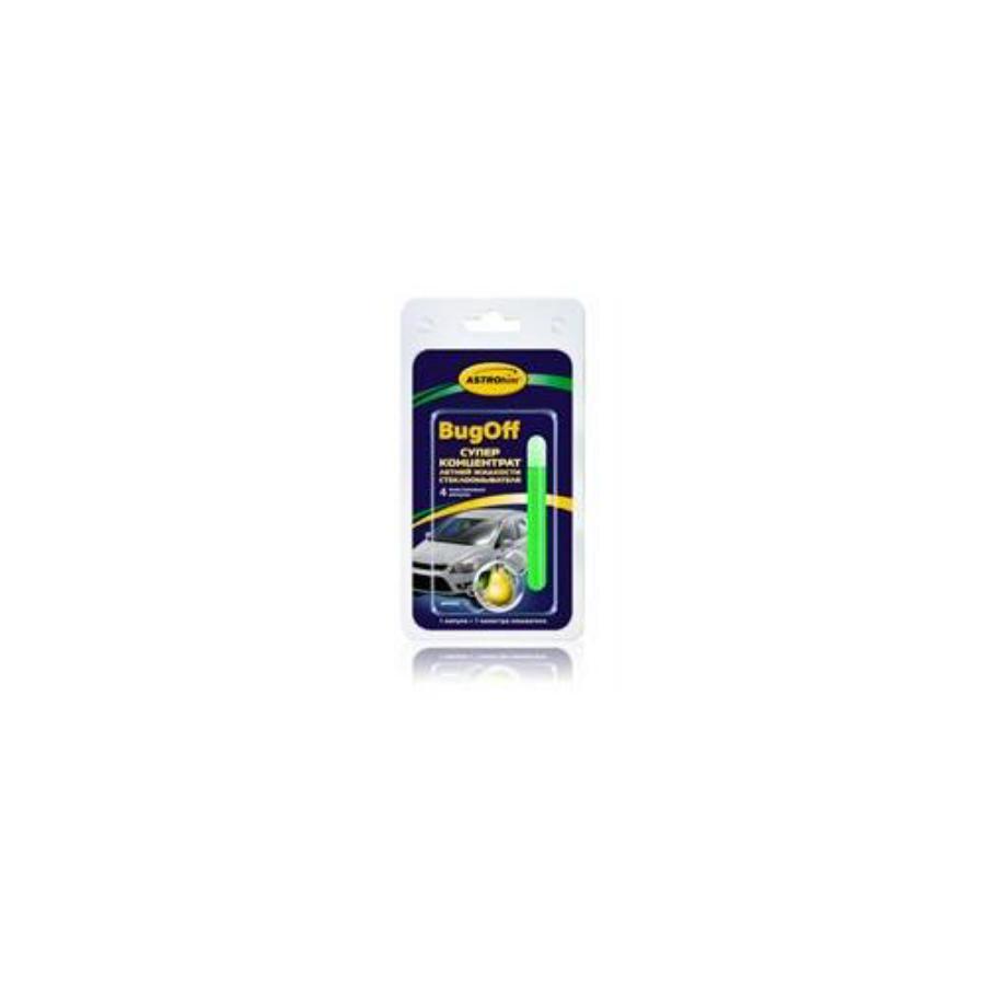 Суперконцентрат летней жидкости стеклоомывателя BugOff, дюшес, 4x10мл