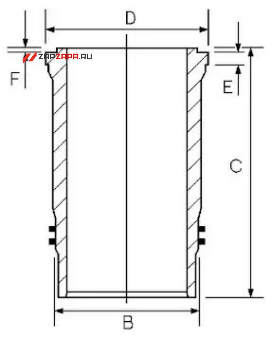 Ремонтный комплект, поршень / гильза цилиндра