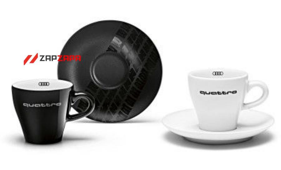 Набор чашек для эспрессо Audi Espresso Cups Set quattro