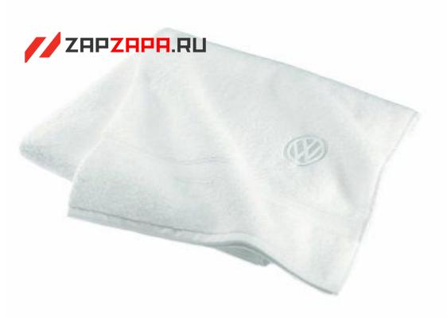 Банное полотенце Volkswagen Logo Towel White