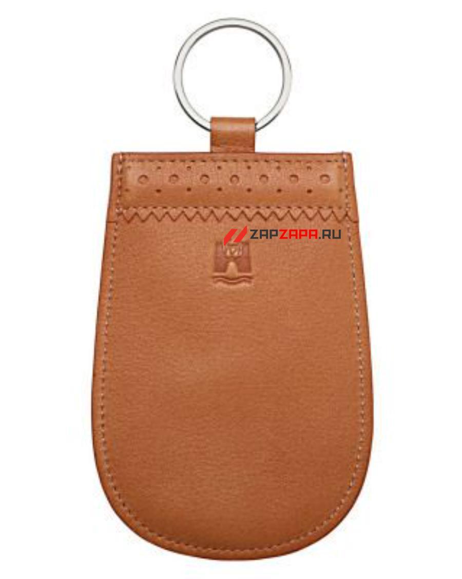 Кожаная ключница Volkswagen Classic Leather Key Pouch Beige