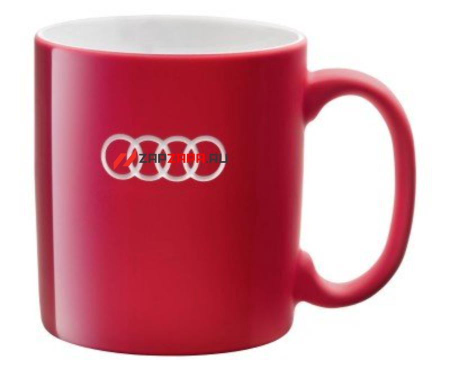 Фарфоровая кружка Audi Porcelain Mug Red