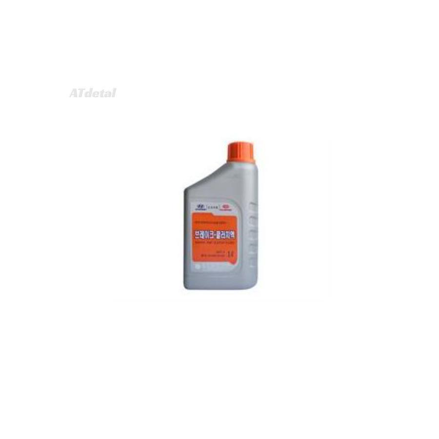 Жидкость тормозная dot 3, 'BRAKE FLUID', 1л