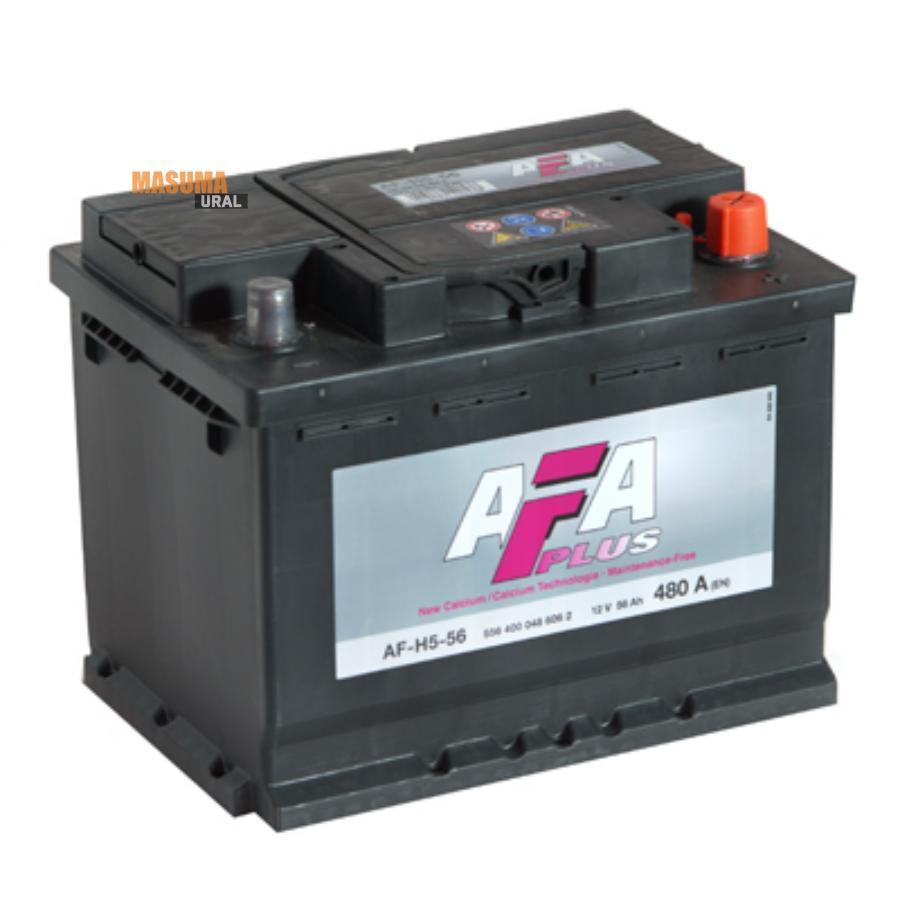 Аккумулятор AFA 56 А/ч 556400 AF ОБР EN 480