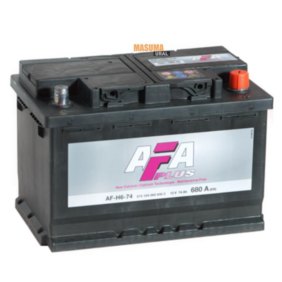 Аккумулятор AFA 74 А/ч 574104 AF ОБР EN 680