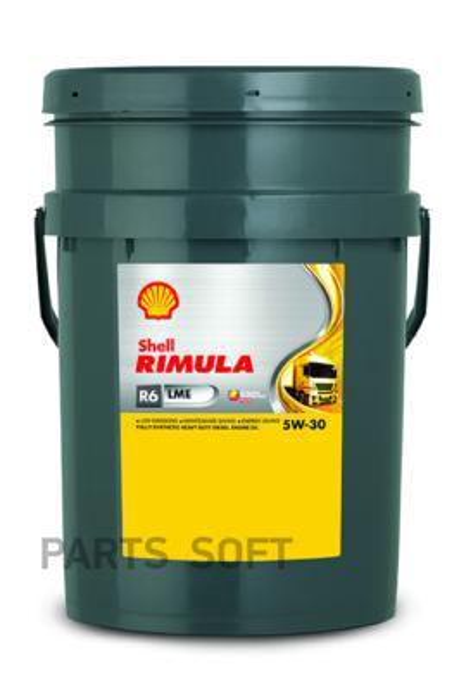 Масло моторное синтетическое Rimula R6LME 5W-30, 20л