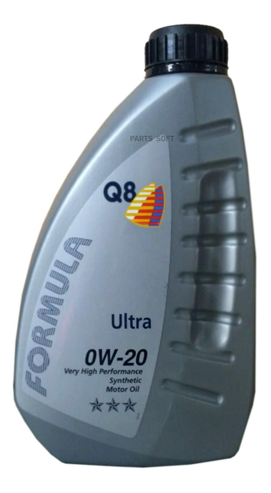 Масло моторное синтетическое Formula Ultra 0W-20, 1л
