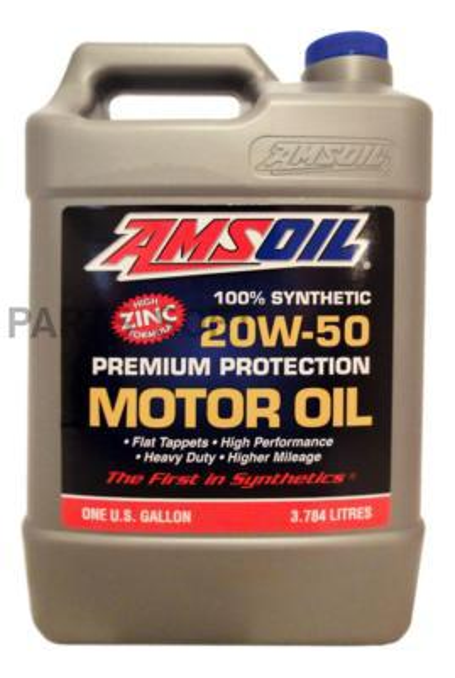 Масло моторное синтетическое Synthetic Premium Protection Motor Oil 20W-50, 3,784л