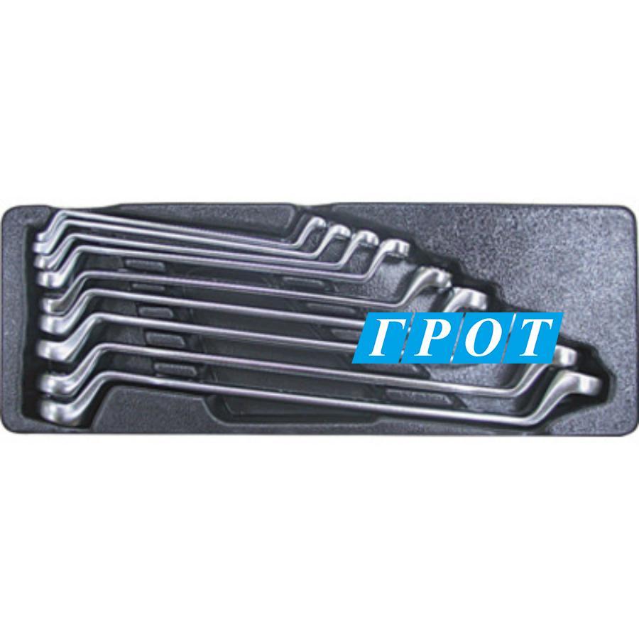 Набор ключей накидных 75 гр. 6 - 24 мм 9 пр. в ложементе