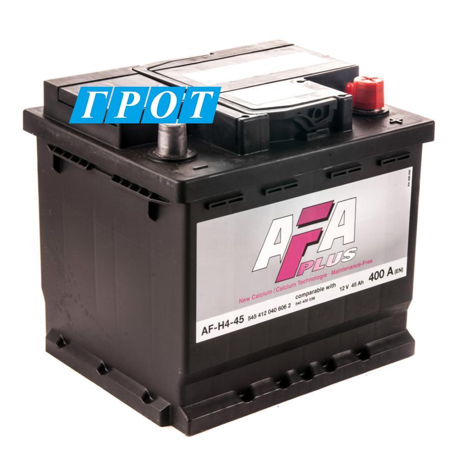 Аккумулятор AFA 45 А/ч 545412 AF ОБР EN400