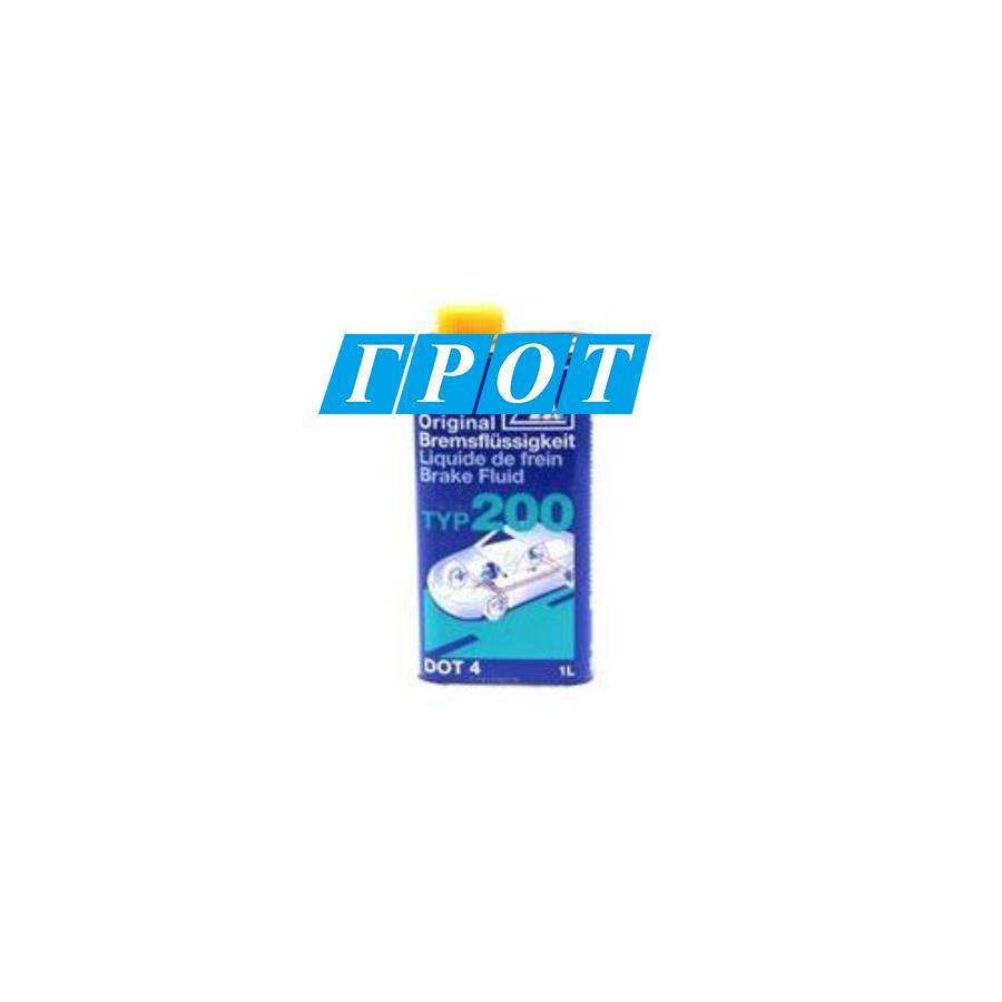 Жидкость тормозная dot 4, 'Brake Fluid TYP 2'0'0', 1л