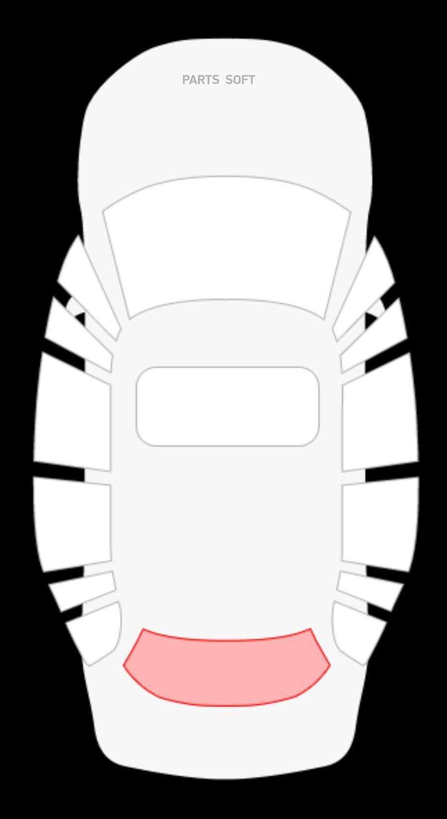 Audi 80 V 4D Sed заднее с ЭО