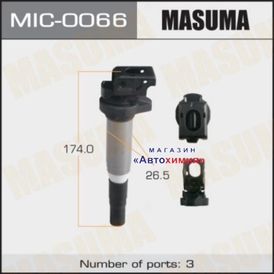 Катушка зажигания MASUMA, BMW 1,3,5 / N43B20, N53B30   06-