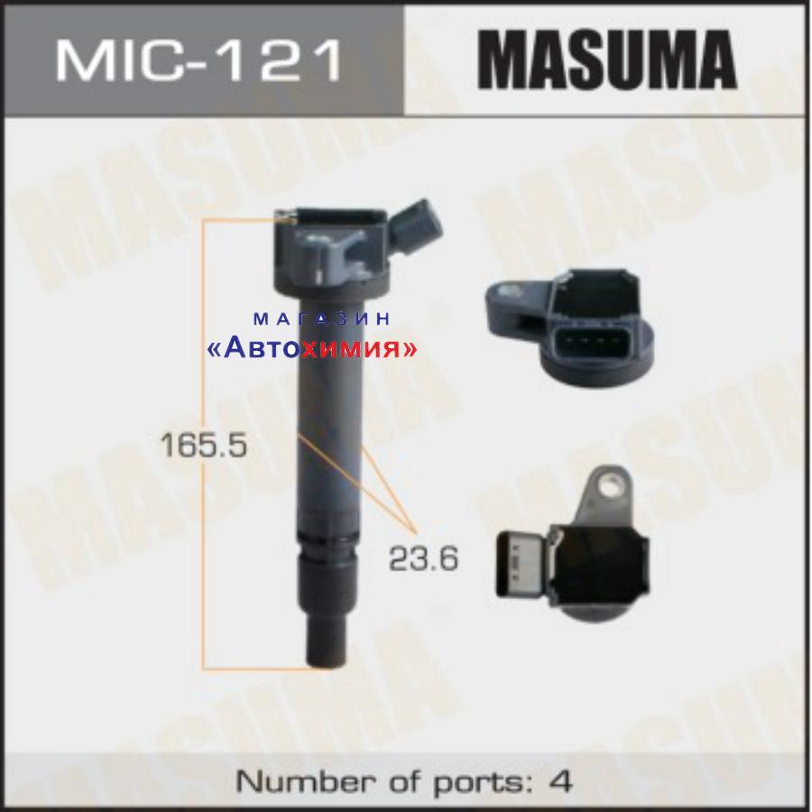 Катушка зажигания MASUMA, CROWN MAJESTA, GS460 / 1URFSE 07-