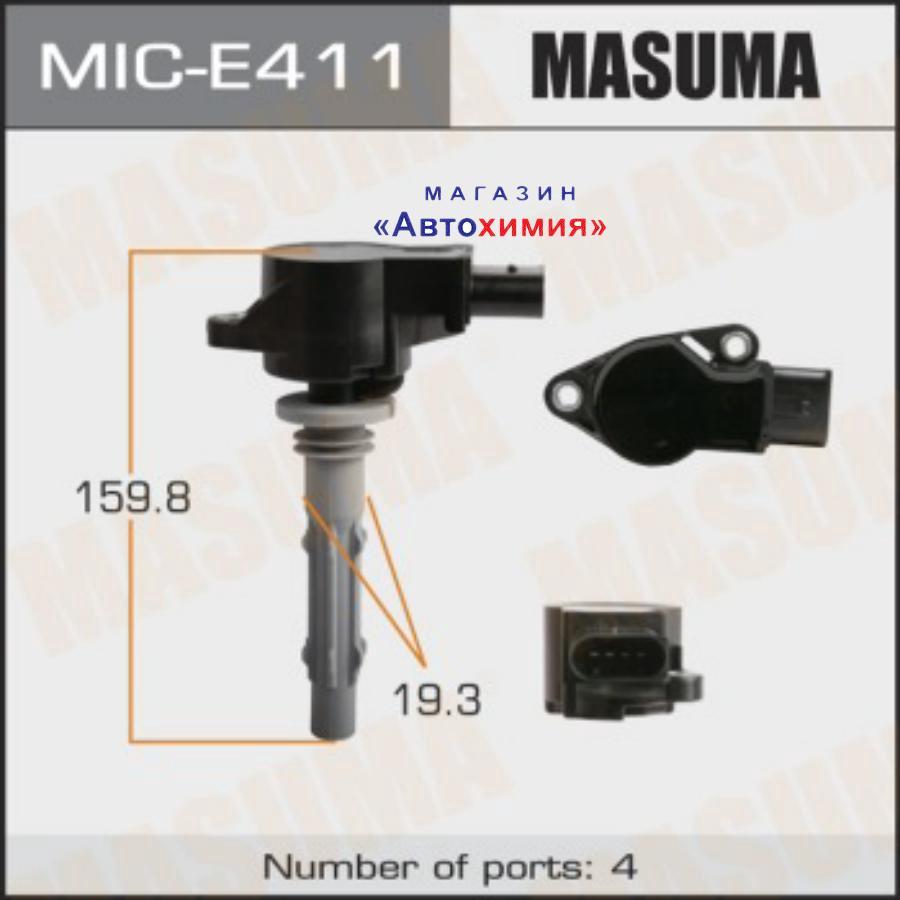Катушка зажигания MASUMA, MERCEDES-BENZ C280, C350