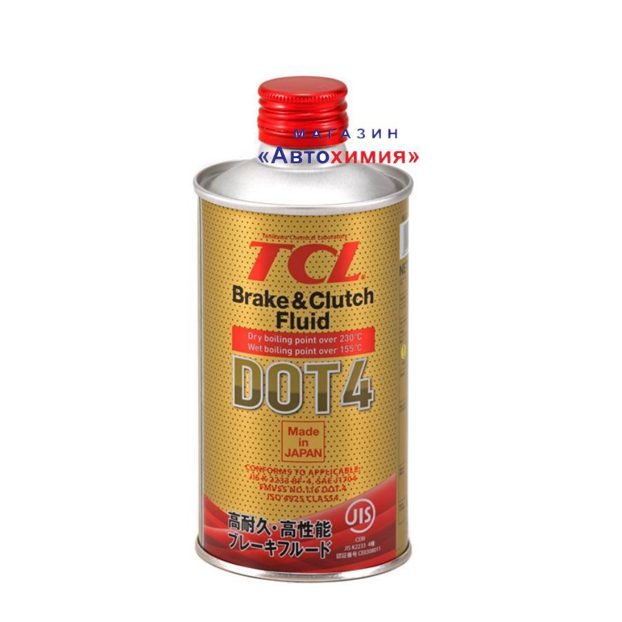 Жидкость тормозная dot 4, '0,355л