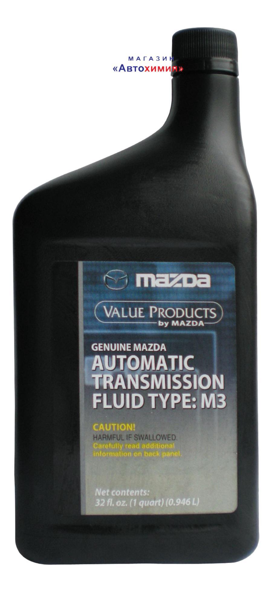 Масло трансмиссионное минеральное ATF M-III, 1л