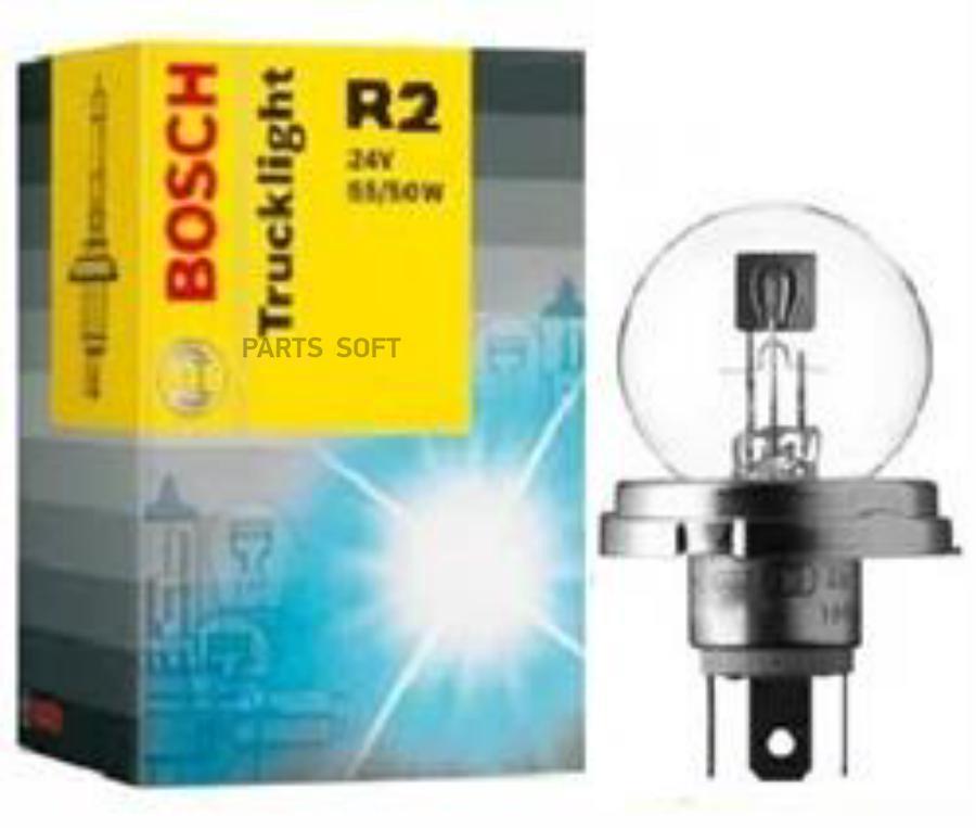 Лампа галоген Trucklight R2 24В 55/50Вт