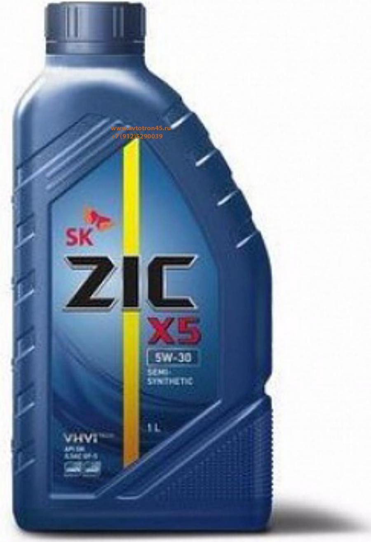 Масло моторное полусинтетическое X5 5W-30, 1л
