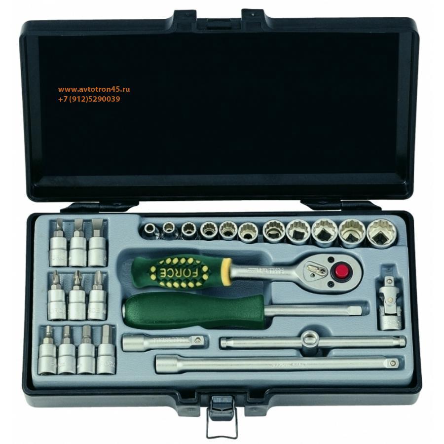 Набор инструментов с 12-ти гранными головками FORCE 2281