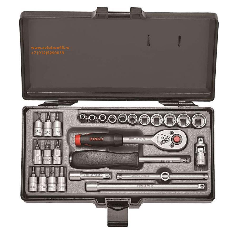 Набор инструментов с 6-ти гранными головками FORCE 2281-5