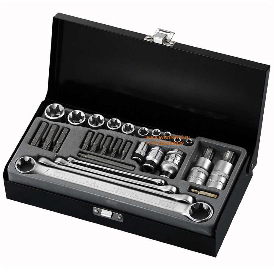 Набор инструмента TORX (29 предметов) FORCE 2303