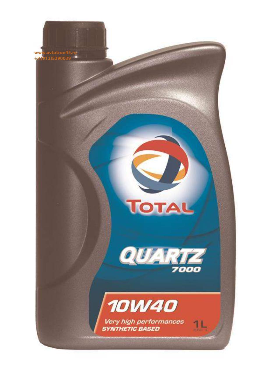 Масло моторное полусинтетическое QUARTZ 7000 10W-40, 1л