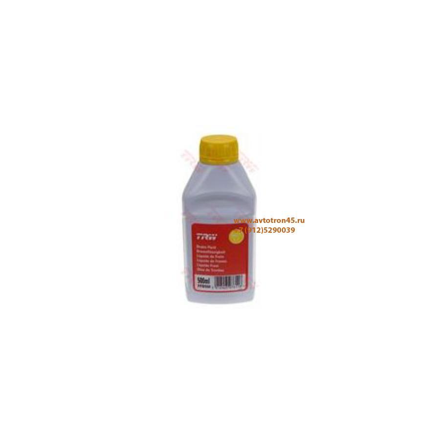 Жидкость тормозная dot 5,1, 'BRAKE FLUID', '0,5л