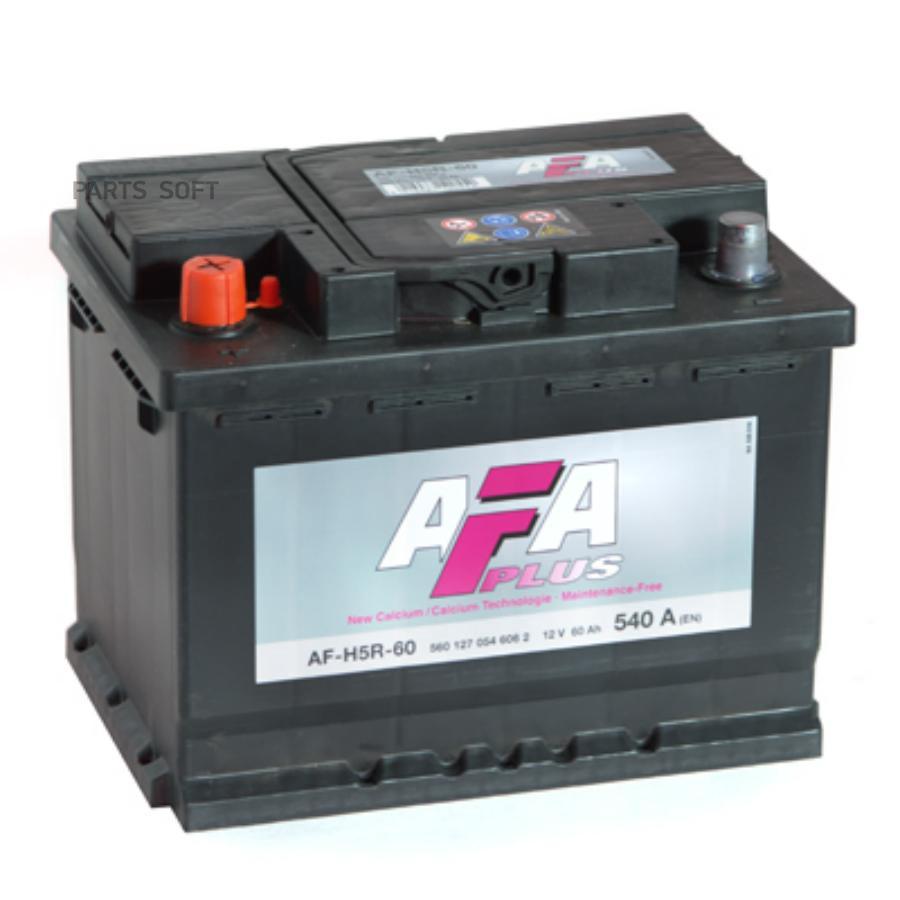 Аккумулятор AFA 60 А/ч 560127 AF EN 540