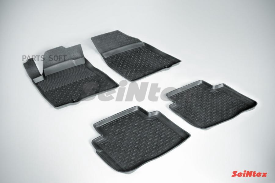 Резиновые коврики с высоким бортом для Nissan Teana III 2014-н.в.
