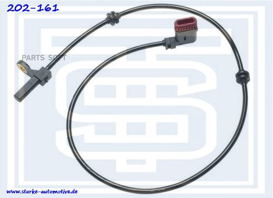 Датчик ABS MER W221 задний