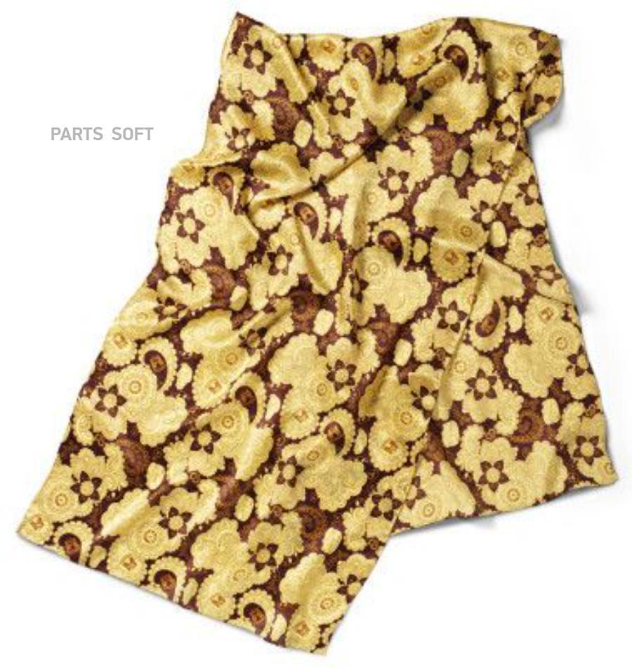 Шейный платок Volkswagen Ladies Silk Scarf Yellow Brown