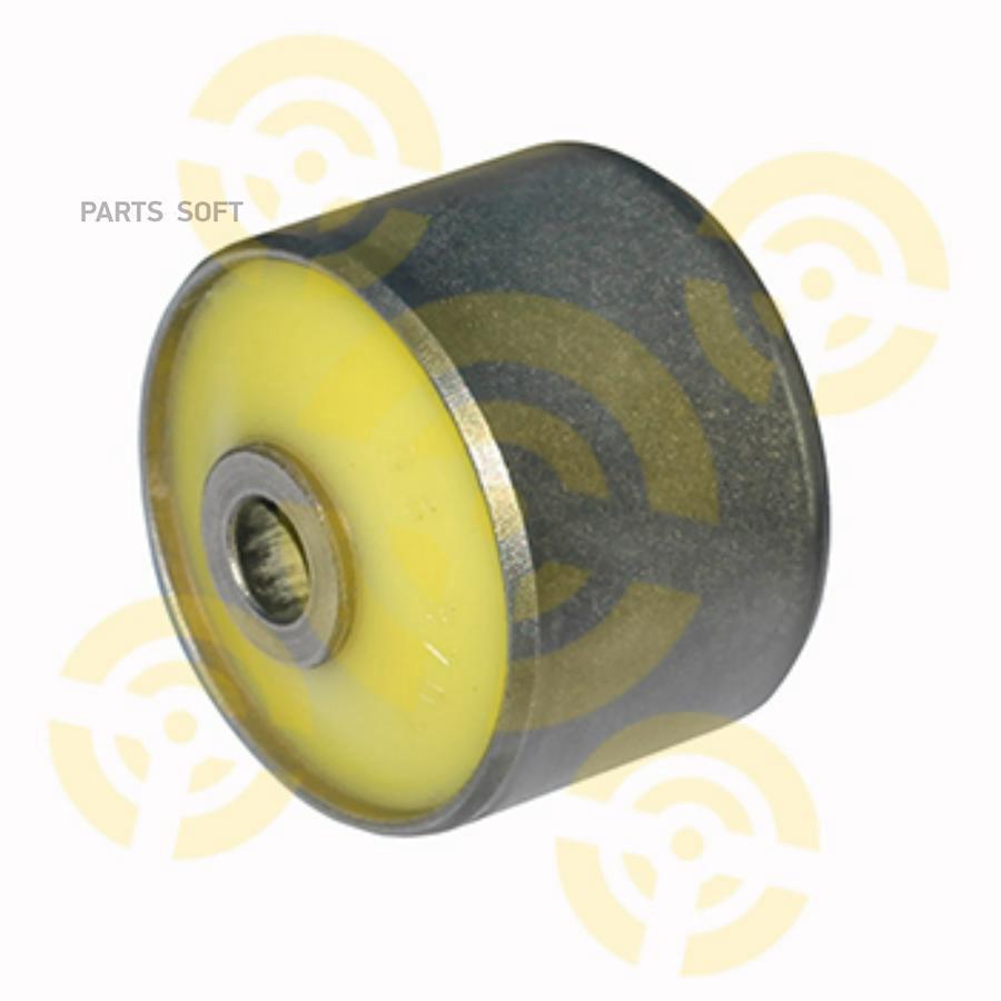 Сайлентблок полиуретановый задней подвески, нижнего продольного рычага, задний, крепление амортизатора