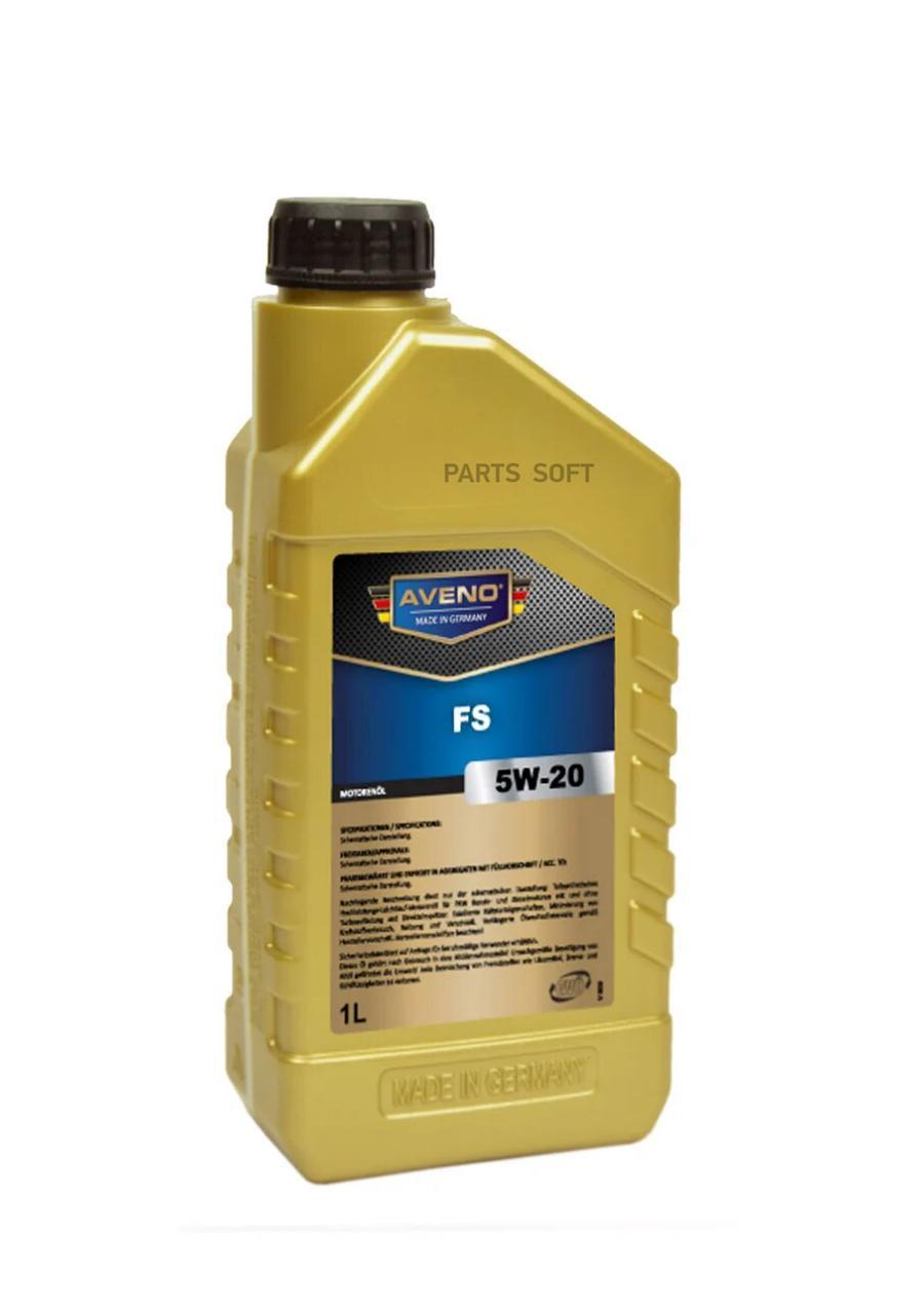 Моторное масло AVENO FS SAE 5W-20 (1л)