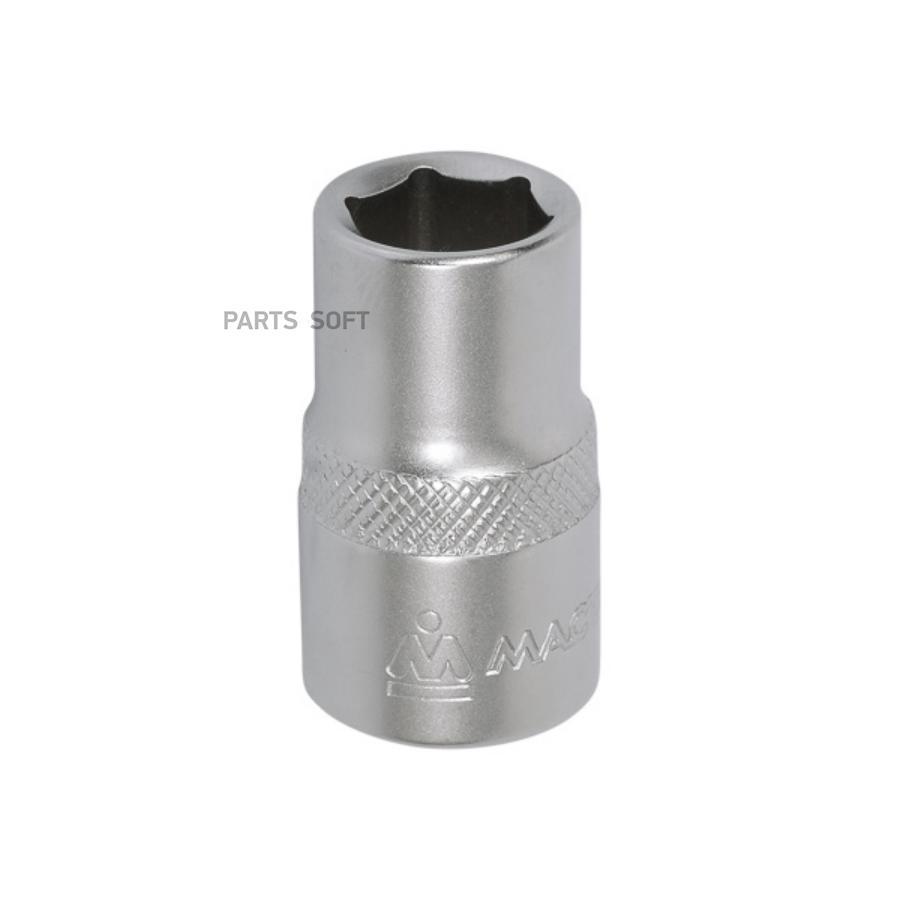 "Головка торцевая стандартная шестигранная 1/2"", 10 мм МАСТАК 000-40010"