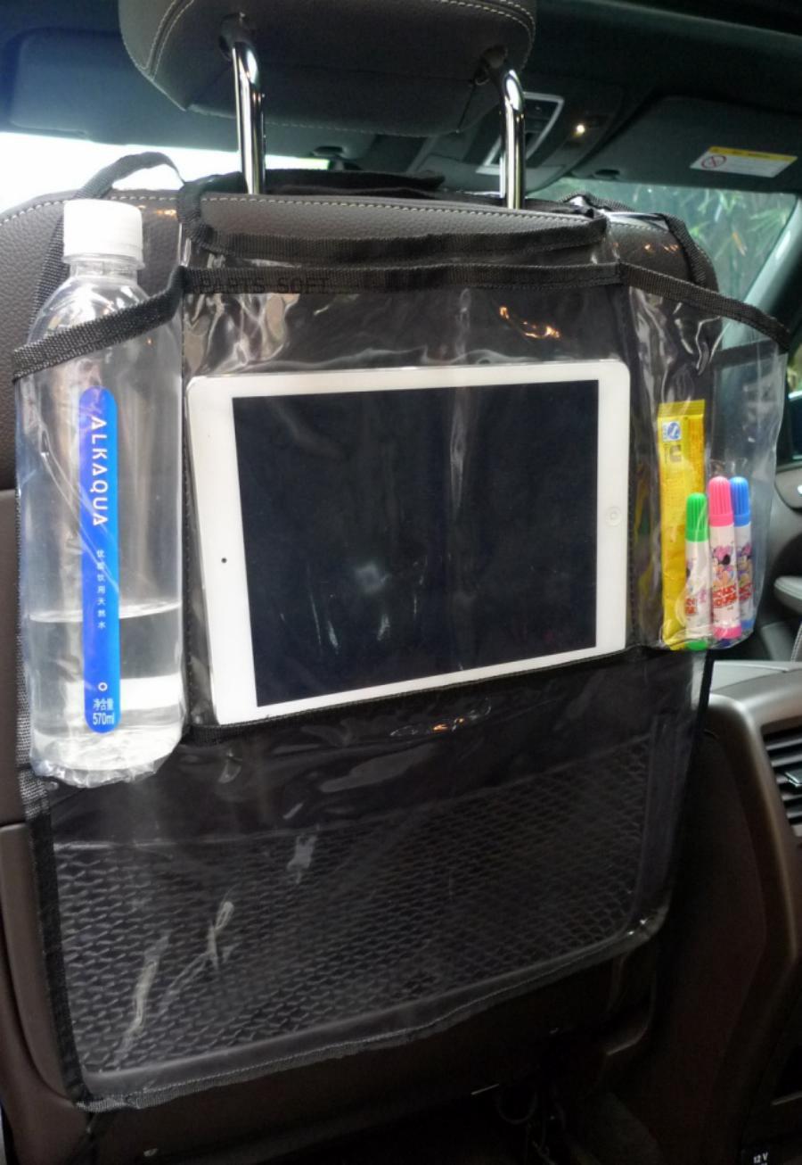 Накидка на спинку переднего сидения с отделением для планшета  AVS