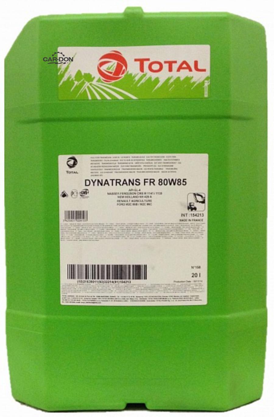 Трансмиссионное масло Dynatrans FR