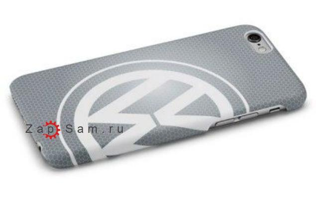Чехол Volkswagen Logo iPhone 6/6S Cover Grey