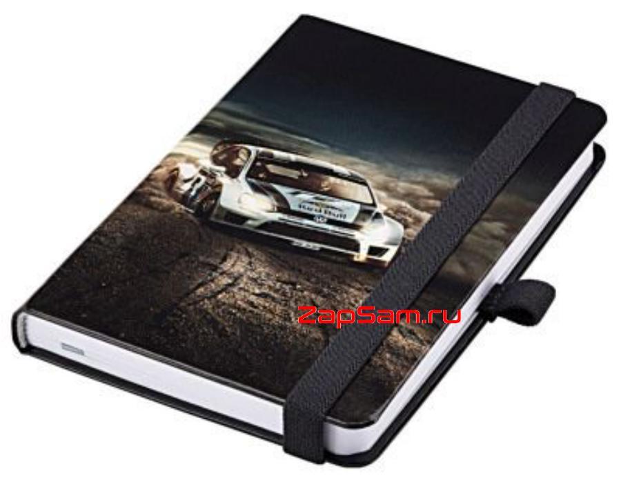 Записная книжка Volkswagen Notebook WRC Motorsport