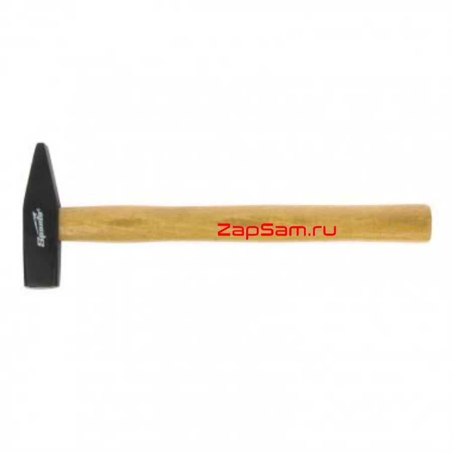 Молоток слесарный, 500 г, квадратный боек, деревянная рукоятка SPARTA 102105