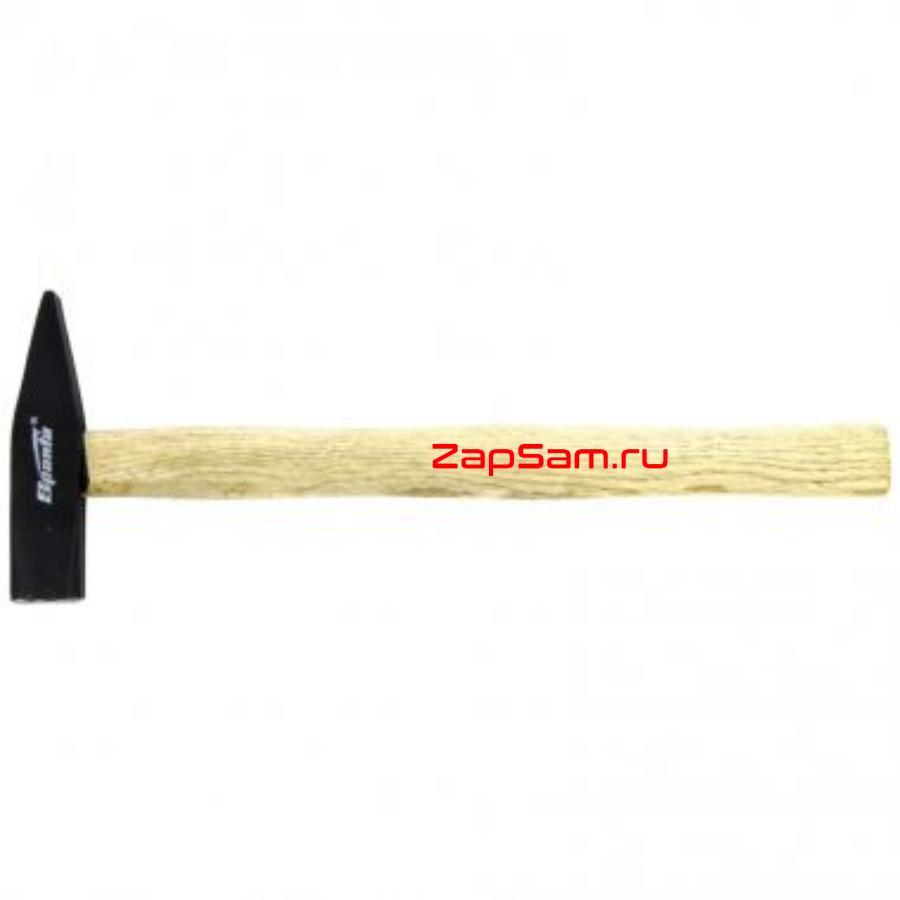 Молоток слесарный, 400 г, квадратный боек, деревянная рукоятка SPARTA 102085