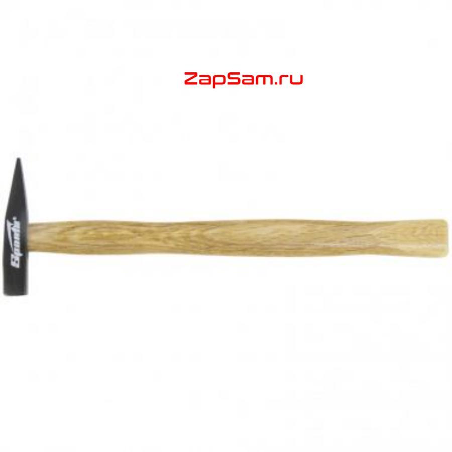 Молоток слесарный, 100 г, квадратный боек, деревянная рукоятка SPARTA 102025