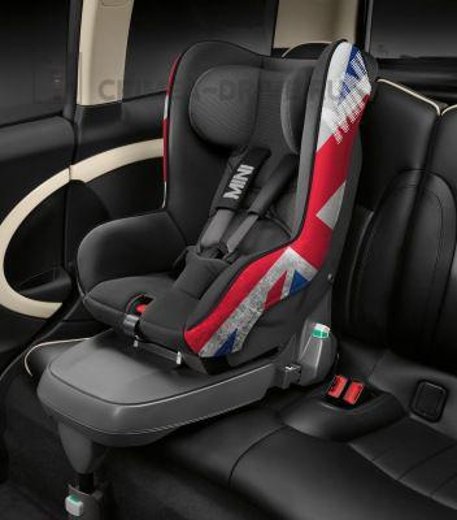 Детское автокресло Mini Junior Seat Group 1 Union Jack