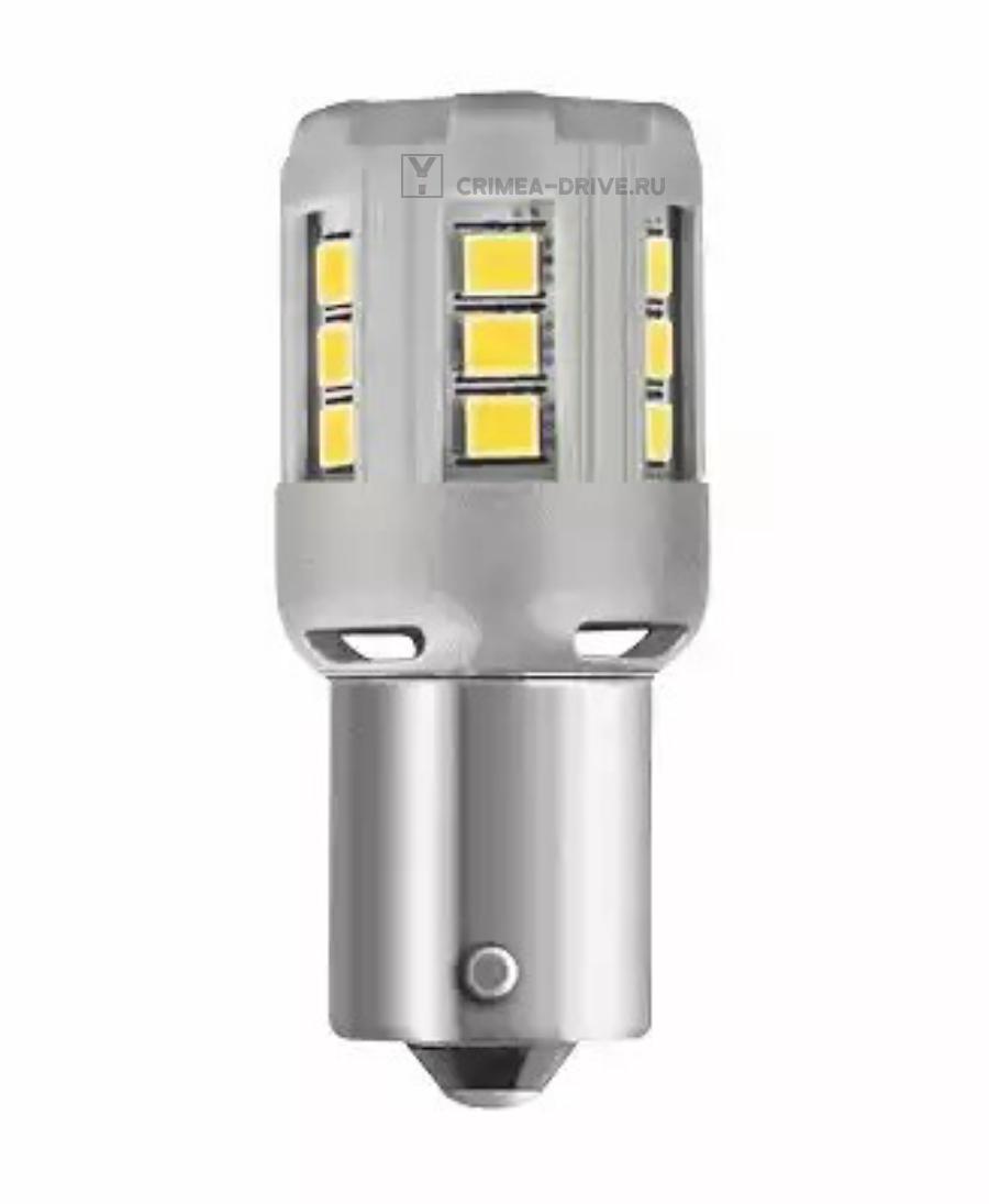 Комплект ламп P21W 12V 2W BA15s LEDRIVING standard retrofit/красный/P21W 2шт.(1к-т)