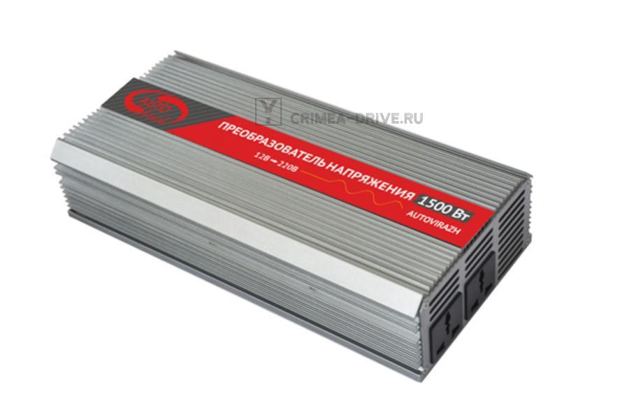 Преобразователь напряжения-инвертер 1500 Вт