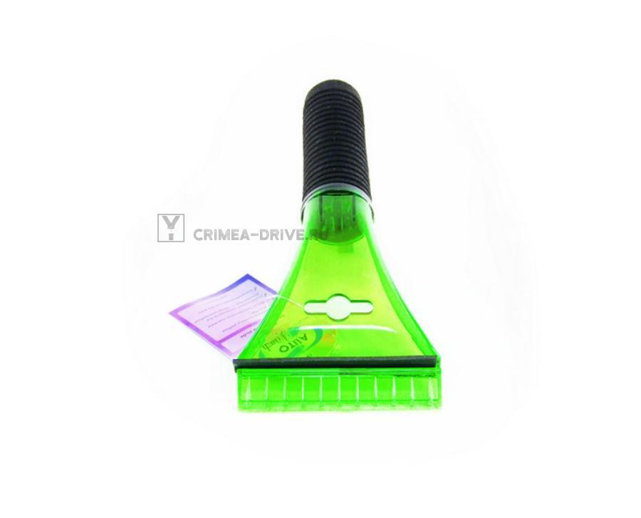 Скребок для льда с водосгоном и мягкой ручкой, 21,5 см